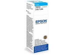 Струйный картридж Epson C13T66424A голубой
