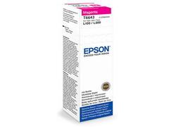 Струйный картридж Epson C13T66434A пурпурный