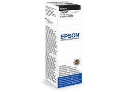 Струйный картридж Epson C13T66414A черный