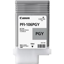 Струйный картридж Canon PFI-106PGY серый 6631B001