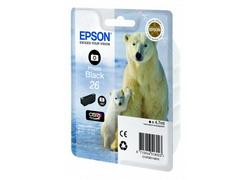 Струйный картридж Epson C13T26114010 черный фото C13T26114010