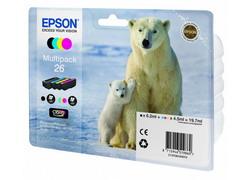Картридж Epson C13T26164010 4 шт. C13T26164010