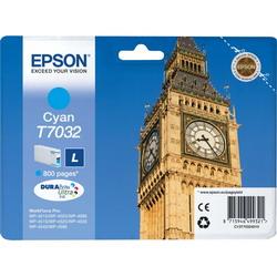 Струйный картридж Epson C13T70324010 голубой C13T70324010