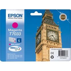 Струйный картридж Epson C13T70334010 пурпурный