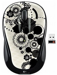 Мышь Logitech Wireless Mouse M325 Ink Gears White-Black USB 910-003026