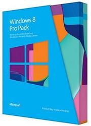 Microsoft Win Pro Pack 8 32-bit/64-bit Russian PUP Medialess Win to Pro MC