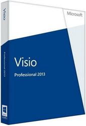 Microsoft Visio Pro 2013 32-bit/x64 Russian CEE DVD