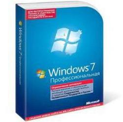 Microsoft Win Pro 7 SP1 64-bit Russian Single package DSP OEI DVD