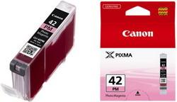 Струйный картридж Canon CLI-42PM пурпурный 6389B001