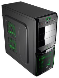 Корпус AeroCool V3X Advance Evil Green Edition Black EN57356