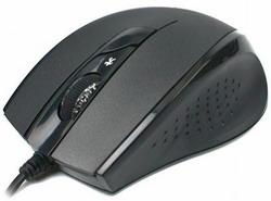 Мышь A4 Tech D-600X Holeless Black USB