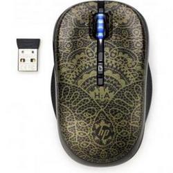Мышь HP H2P31AA Black-Gold USB