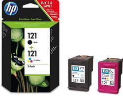 Струйный картридж HP 121 цветной двойная упаковка