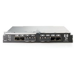 BladeSystem Brocade 8/12c SAN Switch (8+16 ports) (8 external SFP slots, incl 2x8Gb LC SW SFP, 12 ports enabled for any combination (int and ext)) AJ820A