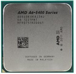 Процессор AMD A6-5400K AD540KOKA23HJ