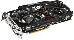Видеокарта Gigabyte GeForce GTX 780 863Mhz PCI-E 3.0 3072Mb 6008Mhz 384 bit 2xDVI HDMI HDCP WindForce