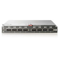 StorageWorks 3Gb SAS Blade Switch to communicate with MSA2000sa (8 external SFF8088 ports) (incl. 2 switches) AJ865A