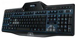 Клавиатура Logitech Gaming Keyboard G510s Black USB 920-004975