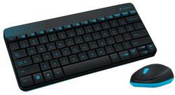 Комплект клавиатура + мышь Logitech Wireless Combo MK240 Black USB