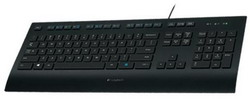 Клавиатура Logitech Corded Keyboard K280e Black USB