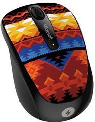 Мышь Microsoft Wireless Mobile Mouse 3500 Artist Edition Koivo Black-Orange USB