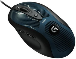Мышь Logitech Optical Gaming Mouse G400s Black-Blue USB