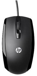 Мышь HP X500 Wired Mouse Black USB E5E76AA