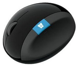 Мышь Microsoft Sculpt Ergonomic Mouse L6V-00005 Black USB L6V-00005