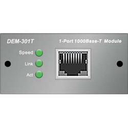 DEM-301T, module, 1x1000BASE-T, for DES-30xx DEM-301T