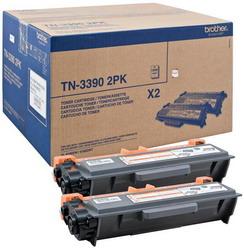 Тонер-картридж Brother TN3390TWIN черный двойная упаковка