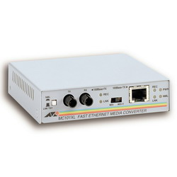 Media Converter 100BaseTX to 100BaseFX (ST Multimode) AT-MC101XL-YY