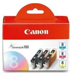 Струйный картридж Canon CLI-8C/M/Y 0621B029