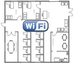 Готовое Wi-Fi решение для покрытия объекта до 150 м2 + уличная территория до 150 м2