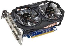 Видеокарта Gigabyte GeForce GTX 750 Ti 1033Mhz PCI-E 3.0 2048Mb 5400Mhz 128 bit 2xDVI 2xHDMI HDCP GV-N75TOC-2GI