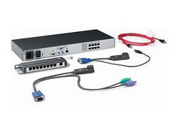 Server console switch 0x2x8 KVM (UTP connection) AF616A