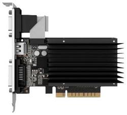 Видеокарта Palit GeForce GT 730 902Mhz PCI-E 2.0 1024Mb 1804Mhz 64 bit DVI HDMI HDCP Silent