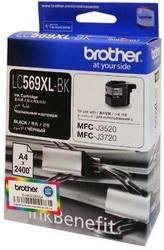 Струйный картридж Brother LC569XLBK черный