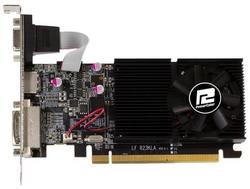 Видеокарта PowerColor Radeon R7 240 600Mhz PCI-E 3.0 2048Mb 1600Mhz 64 bit DVI HDMI HDCP AXR7 240 2GBK3-HLE