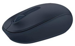Мышь Microsoft Wireless Mobile Mouse 1850 dark Blue USB