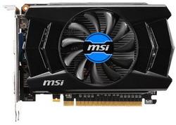 Видеокарта MSI GeForce GTX 750 Ti 1059Mhz PCI-E 3.0 2048Mb 5400Mhz 128 bit DVI HDMI HDCP V1 N750Ti-2GD5/OCV1