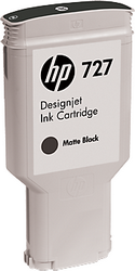 Струйный картридж HP 727 Designjet матовый черный 300 мл C1Q12A