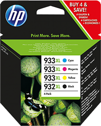 Струйный картридж HP 932XL/933XL комплект 4 цвета