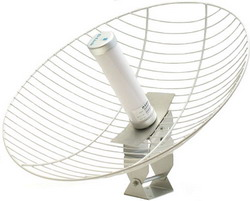 ANT24-2100, Outdoor 21dBi Gain directional Antenna with surge protector ANT24-2100