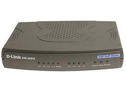 DVG-6004S, VoIP Gateway, 4хFXO, 4x10/100BASE-TX (LAN), 1x10/100BASE-TX (WAN) DVG-6004S