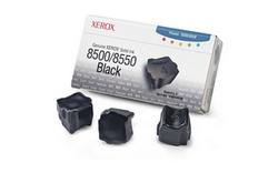 Набор твердочернильных брикетов Phaser 8500/8550 Черные 3 шт. (3000 страниц) 108R00668