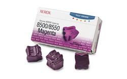 Набор твердочернильных брикетов Phaser 8500/8550 Пурпурный 3шт. ColorStix ink sticks (3000 pages) 108R00670