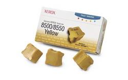 Набор твердочернильных брикетов Phaser 8500/8550 Желтый 3 шт. ColorStix ink sticks (3000 pages) 108R00671