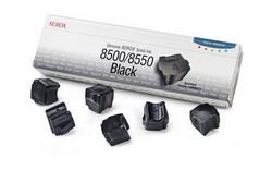 Набор твердочернильных брикетов Phaser 8500/8550 Черный 6шт. ColorStixink sticks (6000 pages) 108R00672
