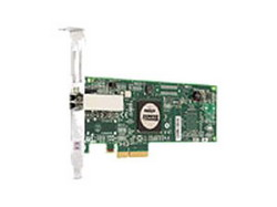 StorageWorks FCA FC2142SR 4GB FC Host Bus Adapter PCI-E for Windows, Linux (LC connector), incl. h/h & f/h. brckts A8002A