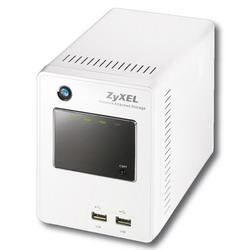 Многофункциональный сетевой RAID-накопитель с интерфейсом Gigabit Ethernet, медиасервером и автономным менеджером закачки NSA220 EE